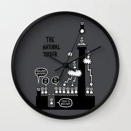 The Natural Order Wall Clock