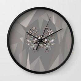 Grey crab Wall Clock