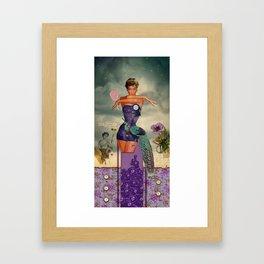 Pride (7 Deadly Sins Series) Framed Art Print