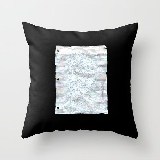 UNKNOWN PAPER Throw Pillow
