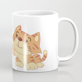 Butterfly & Cat Coffee Mug