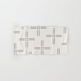 Worn Dots + Lines Hand & Bath Towel
