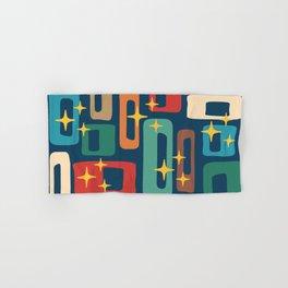 Retro Mid Century Modern Abstract Pattern 221 Hand & Bath Towel