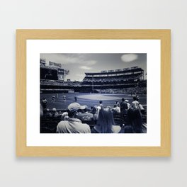Take Me Out to the Ball-game! Framed Art Print