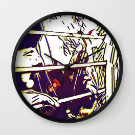 On Guard Wall Clock