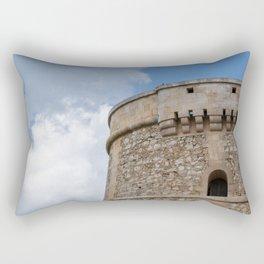 Alcaufar, Menorca Rectangular Pillow