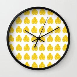 Jonquil Asian Moods Buddha Boys Wall Clock