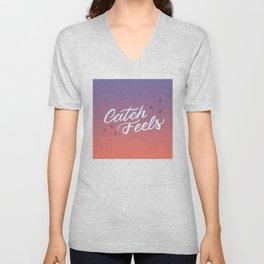 Catch Feels - Sunset Palette Unisex V-Neck