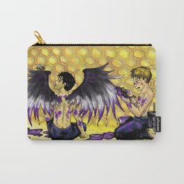 Ace Wings and Honeycombs Carry-All Pouch