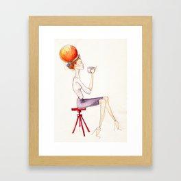 Cup of tea Framed Art Print