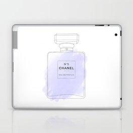 purple watercolor perfume Laptop & iPad Skin