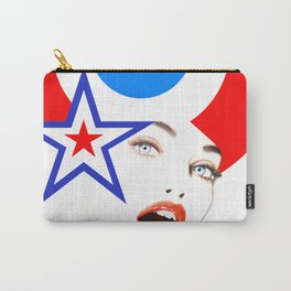 Pop-Art Pinup Carry-All Pouch