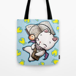 Moogle and chocobo Tote Bag
