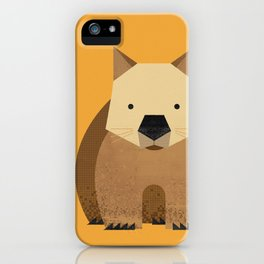 Whimsy Wombat iPhone Case