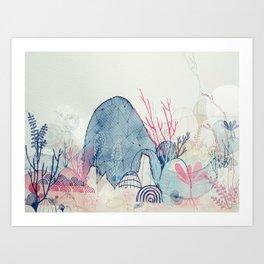 sea wonderland Art Print