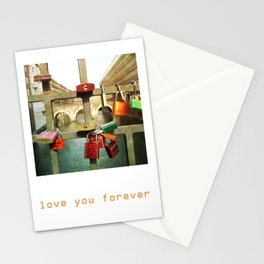 Love you forver Stationery Cards