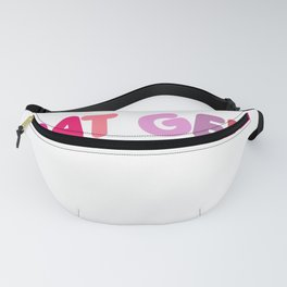 Low German saying East Frisian North Coast Funny Fanny Pack