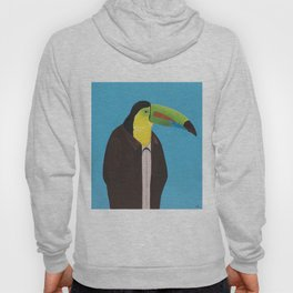 Toucan In Suit Hoody