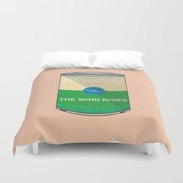The wind rises- Miyazaki - Special Soup Series  Duvet Cover
