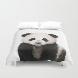 Panda Cub Duvet Cover