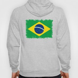 Flag of Brazil - Hi Quality Authentic version Hoody