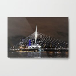 Provencher Bridge Metal Print