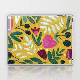 Mustard bouquet Laptop & iPad Skin
