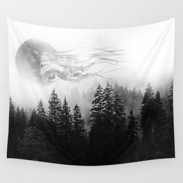 jellyfish forest 2 Wall Tapestry