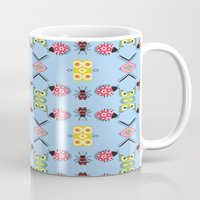 bugs Mugs featuring Bugs by Lena Photo Art