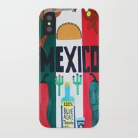 mexico iPhone & iPod Cases featuring Mexico by Jake Hollywood