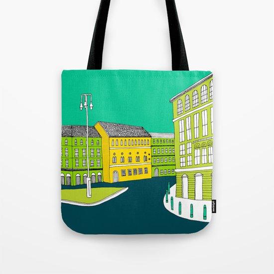 CITY CENTRE // TOWN Tote Bag