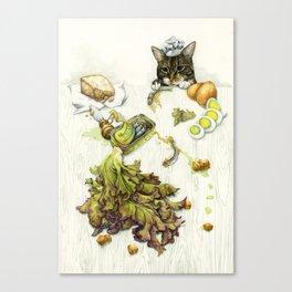Caesar Salad Canvas Print