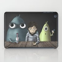 rare iPad Cases featuring Three rare guys by Ainaragm