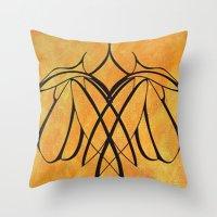 lesbian Throw Pillows featuring Together Lesbian Love by taiche