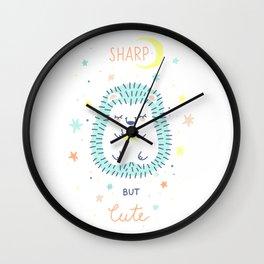 Cute Hedgehog Wall Clock