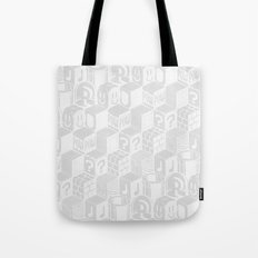 SUPER MARIO BLOCK-OUT! (White Edition) Tote Bag