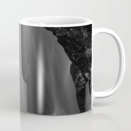 Black and white waterfall long exposure Coffee Mug