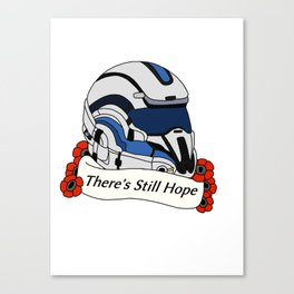 Mass Effect Andromeda: There's Still Hope Canvas Print