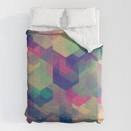 CUBEN Dark Shambles Comforters