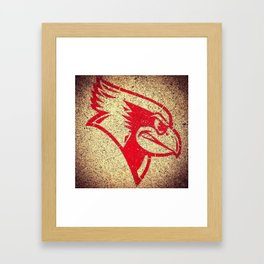 Illinois State University Redbirds Framed Art Print