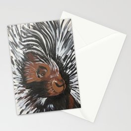 Porcupine by Noelle's Art Loft Stationery Cards