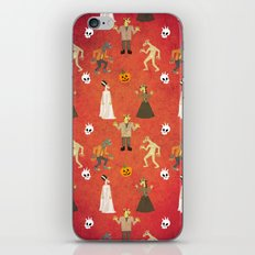 Unicorn Halloween Pattern iPhone & iPod Skin