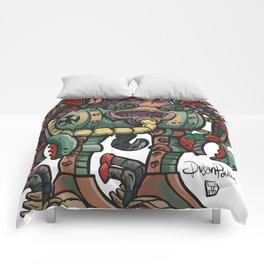 Old German robot Comforters