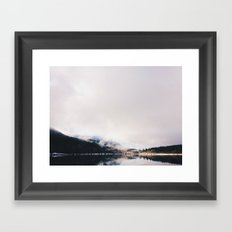 Mountain Lake (iPhone) Framed Art Print