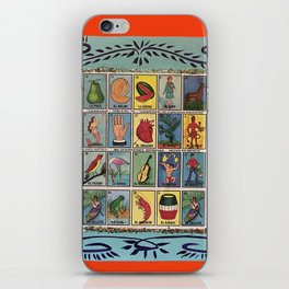 Mexican Bingo Loteria iPhone Skin