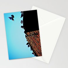 Looking for a Place to Land Stationery Cards