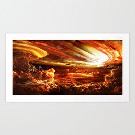 Upsilon Andromeda C Art Print