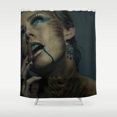 Asphyxiate Shower Curtain