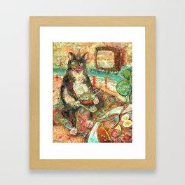 Beast Blanket Bingo Feast Framed Art Print
