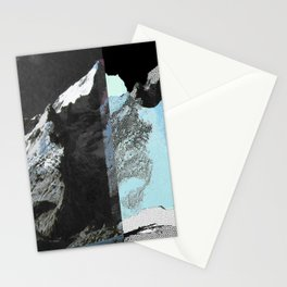 Twin peaks_ charcoal Stationery Cards